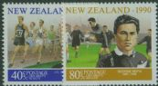 NZ SG1559-60 New Zealand Sporting Heroes (1st series) health stamps set of 2